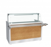 Прилавок-мармит электрический 1-х блюд ПМЭС-70Х-01