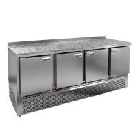 Холодильный стол Hicold GNE 11/TN камень