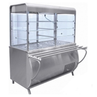 Прилавок-витрина холодильный ПВВ-70М-С-НШ-01