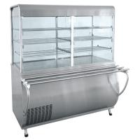 Прилавок-витрина холодильный ПВВ-70М-С-ОК