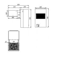 Моноблок среднетемпературный Полюс МС106