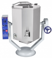 Котел пищеварочный КПЭМ-60-ОМР со сливным краном