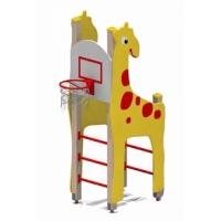 """Игровой комплекс """"Жираф с баскетбольным щитом"""""""