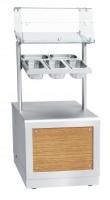 Прилавок для столовых приборов и подносов ПСПХ-70Х
