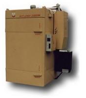 Камера термодымовая КТОМИ-300 У (нержавейка внутри с форсункой + парогенератор) (с тележкой)