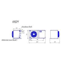 Компрессорно-конденсаторный блок Intercold ККБМ-TFH2511