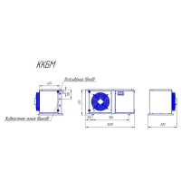 Компрессорно-конденсаторный блок Intercold ККБМ-TAG2516