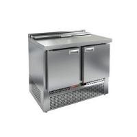 Стол для салатов HICOLD SLE1-11GN (1/3) с крышкой