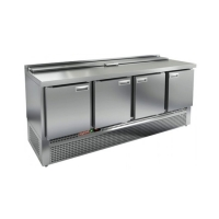 Стол для салатов HICOLD SLE2-1111GN (1/6) с крышкой