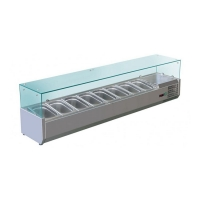 Витрина холодильная Koreco VRX 1800-380 (395II)