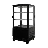 Витрина холодильная Koreco RT58L2R черная