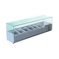 Витрина холодильная Koreco VRX 1400-380 (395II)