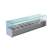 Витрина холодильная Koreco VRX 1600-380 (395II)