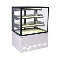 Витрина кондитерская охлаждаемая UNIS Cube II 1000 STATIC,Pearl White