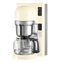 Кофеварка KitchenAid 5KCM0802EAC кремовая