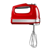 Миксер ручной KitchenAid 5KHM9212EER красный