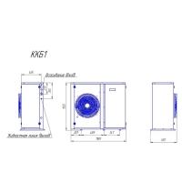 Компрессорно-конденсаторный блок Intercold ККБ1-TAG4553