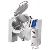 Котел пищеварочный опрокидывающийся КПЭМ-160-ОМ2 с миксером и сливным краном