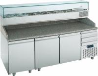 Стол холодильный для пиццы PTR216C3