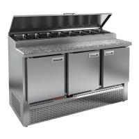 Холодильный стол Hicold PZE1-111/GN (1/3H) камень