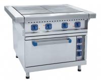 Плита электрическая четырехконфорочная с жарочным шкафом ЭП-4ЖШ-01