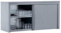 Полка настенная закрытая с дверцами ПЗК-1500