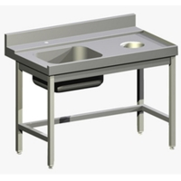 Стол д/гряз.посуды Apach 1200ММ 75446