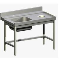 Стол д/гряз.посуды Apach 1500ММ 75442