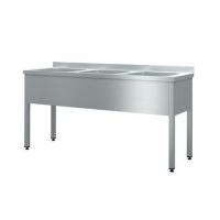 Моечная ванна Cryspi ВМН Ш 3 (L=1800, S=600, H=850, G=250)