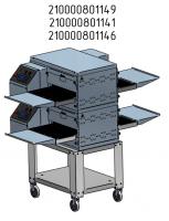 Печь электрическая для пиццы ПЭК-400, без крыши, без основания