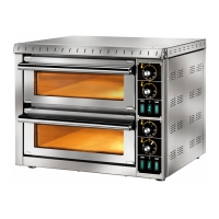 Печь для пиццы MD 66 TR 400 TOP