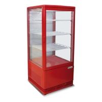 Витрина холодильная Starfood BSF170/40 красная