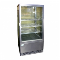 Витрина холодильная Starfood BSF170/85 серебро