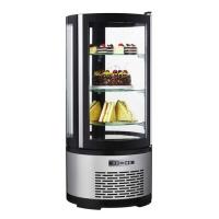Витрина холодильная Starfood 400 R круглая