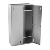 Шкаф для одежды 2-х секционный Кобор ШК-100/50