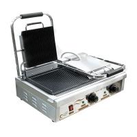Пресс-гриль Ergo VEG-882 двухсекционный
