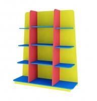 Стеллаж для детского сада Пирамида
