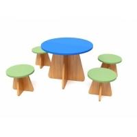 Игровой кукольный набор мебели