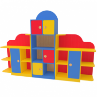 Стеллаж для детского сада Антошка