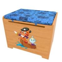 Ящик для игрушек с подушкой